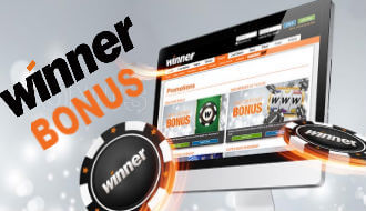 Take advantage of the bonuses and promotions at Winner casino