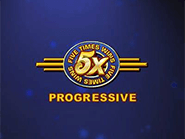 You can play 5x Progressive at Bovada casino and win the 5k jackpot
