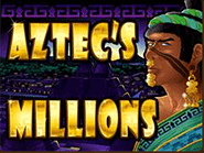At CasinoMax you'll find the Aztec's Millions slot with progressive jackpot.