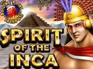 Play Spirit of the Inca progressive slot at Cherry Jackpot Casino.