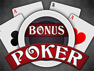 Play Bonus Poker at CoolCat casino