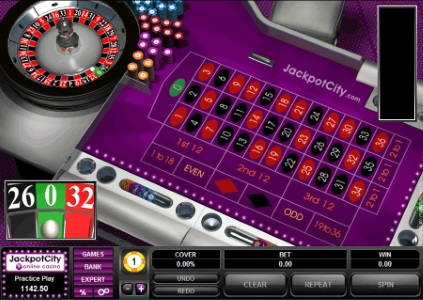 You can play almost every version of roulette at JackpotCity casino.