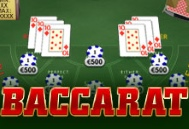 Try the game with the longest history in gaming - baccarat