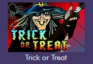 Time to scare up some wins with the Trick or Treat slot game