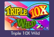 Try Tripple 10x Wild video slot provided by Miami Club casino