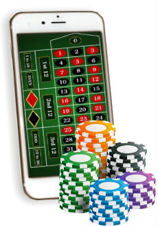 Play online roulette games on your mobile