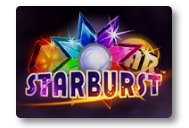 Enjoy the cosmic feel with Starburst slot game at Royal Panda casino