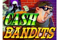 Try your luck with Cash Bandits virtual slot game provided by Sloto Cash casino