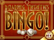 Try Roaring twenties bingo game provided by Uptown Aces casino