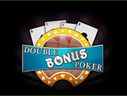 You can play Double Bonus Poker at Raging Bull