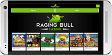 Raging Bull casino has a mobile platform available for all devices
