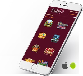 Play everywhere and every time with Ruby Fortune mobile platform.