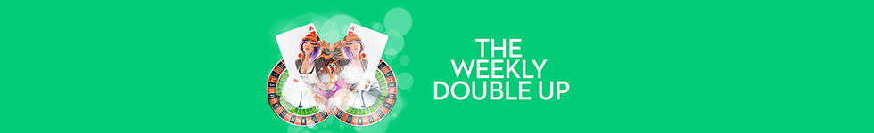 Find the The Weekly Double Up bonus at Slots.lv casino.