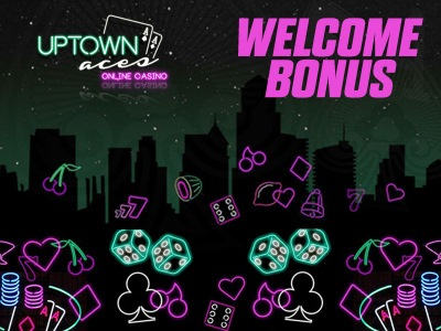 Uptown Aces welcome bonus is one of the biggest you can find on the market.